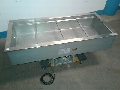 Delfield N8156b Commercial 4 Well Refrigerated 56x 26 Drop-in Cold Pan. Our 2
