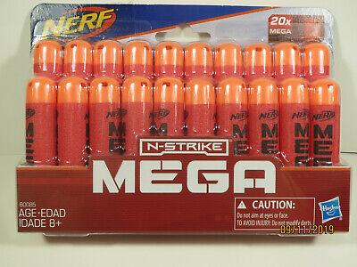 Nerf N-Strike MEGA Darts 20 Pack Brand New