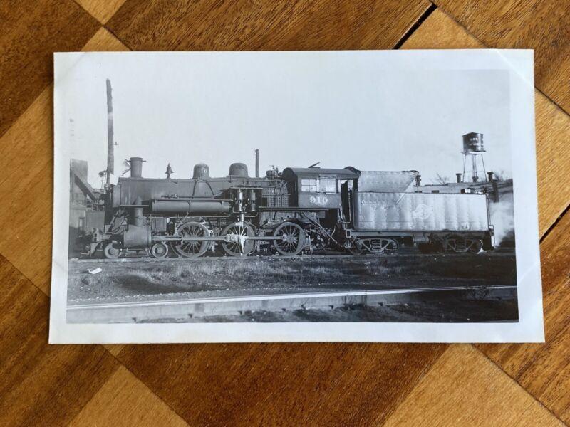 Chicago North Western Railroad Locomotive 910 Vintage Photo C&NW