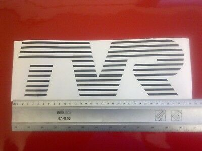 TVR front panel bonnet decal graphic badge sticker 280i 350i Taimar