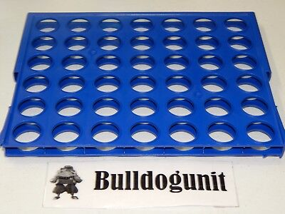 2013 Connect 4 Four Board Game Replacement Playing Grid Only Parts - Play Four Game