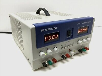 Bk Precision Model 1761 Triple Output Power Supply 0-35v 0-3a 2.5-6.5v 0-5a