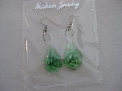 28 Murano Glass Flower Earrings New