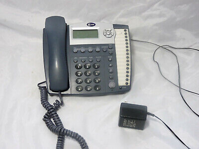 AT/&T 944 4 Line Phone with Intercom Paging compatible AT/&T 955 964 945 974 984