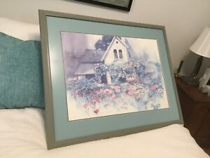 """Lovely Pastel Picture 33"""" x 26"""""""