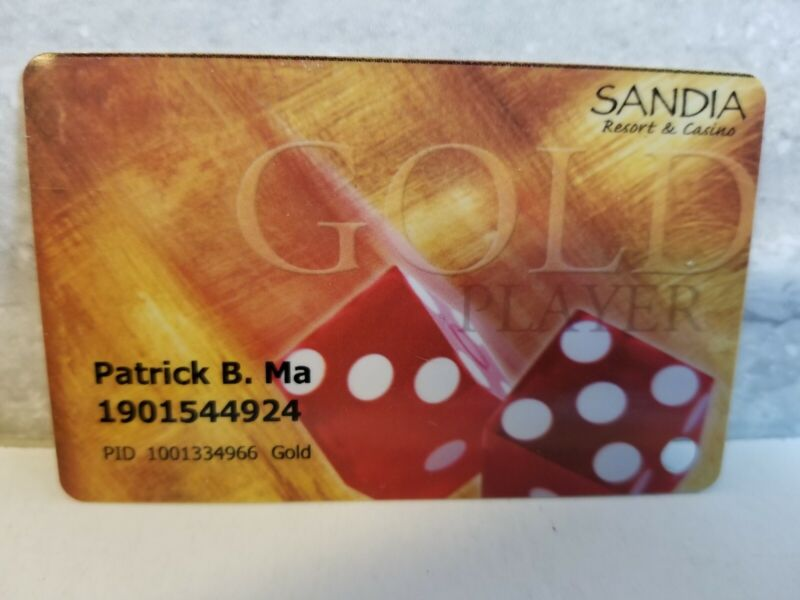 Sandia Casino Resort Players Card Slot Albuquerque New Mexico NM Dice