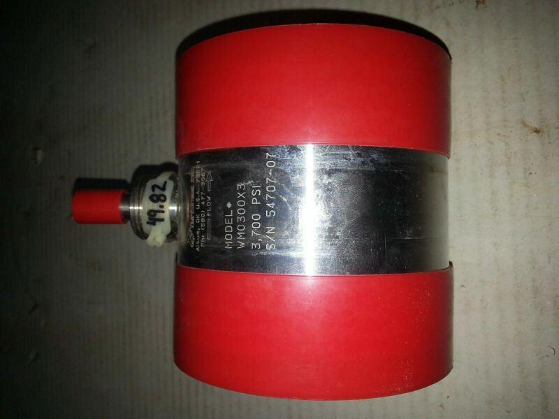 """Nnb Turbines Flow Meter Wm0300x03 3700 Psi 3"""" X 3"""" 21,000 Bpd 3,200 M3pd 49.82"""