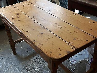 Genuine Irish Antique Pine Table