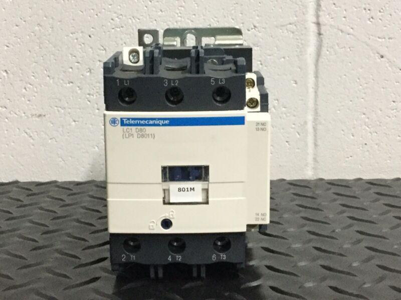 TELEMECANIQUE SCHNEIDER ELECTRIC LC1D80 MAGNETIC CONTACTOR