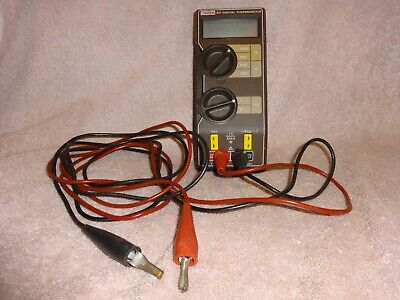 Keithly 871 Digital Thermometer Calibrator 200 - 2000 F 200-1370 C. With Leads