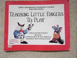 PIANO BOOKS MUSIC BOOKS LEARN PIANO BOOKS TEACHING PIANO BOOKS Northbridge Willoughby Area Preview