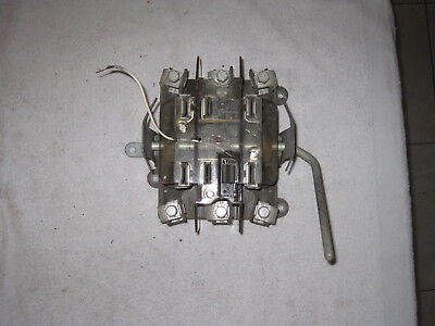Duncan 7 Lug 3 Phase With Bypass Meter Socket For Parts Or Repair....