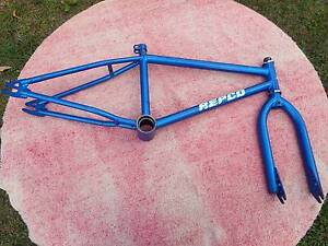 1987 REPCO OLD SCHOOL BMX FRAME AND FORKS Acacia Ridge Brisbane South West Preview