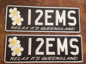 12EMS personalised number plates Aroona Caloundra Area Preview
