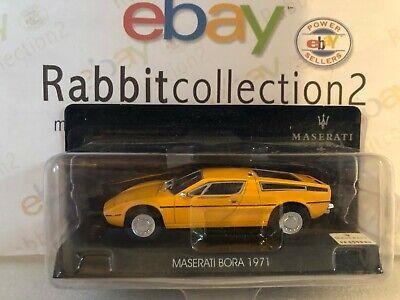 """Die Cast """" Maserati Bora 1971 """" Maserati Collection Scale 1/43"""