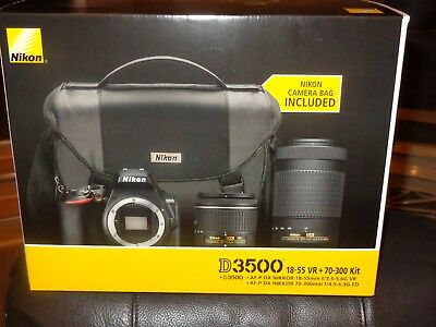 Nikon D3500 Kit (US Version) (NOT REFURBISHED) Brand New