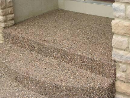 Exposed Aggregate/Concrete/Decorative Concrete