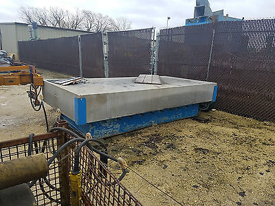 12 Rahn Grade A Granite Inspection Table 144 L X 72 W X 18 Thick On Stand