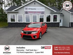 2012 Kia Forte Koup 2.4L SX FUN! Leather! Clean! Sporty!