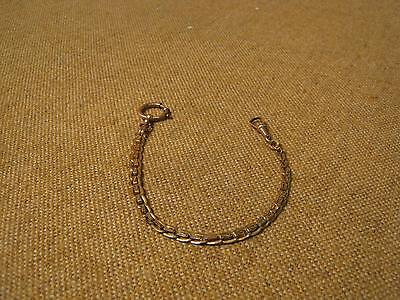 ███ Antique Beautiful Pocket Watch Chain - UM approx. 1900 ( Hooks 95)