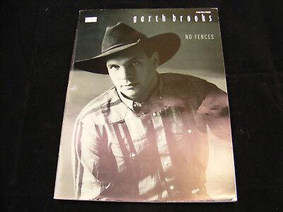 Garth Brooks No Fences Sheet Music Book - VIngage - Rare !