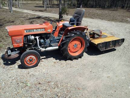 Kubota Tractor1500 Diesel Rodds Bay Gladstone Area Preview