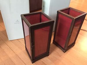 Partylite Moroccan Spice Lanterns set of two