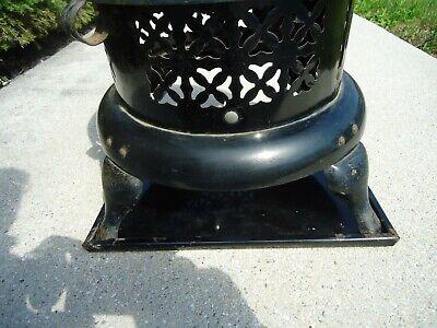 Vintage Antique Perfection Oil Kerosene Parlor Cabin Heater Drip Tray  VERY RARE