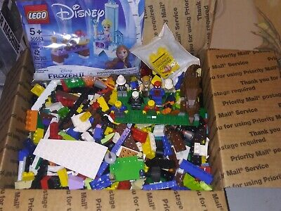 Lego Lot Bulk 5 Lbs Mini-figures Mixed Building Bricks Blocks Part Pieces B