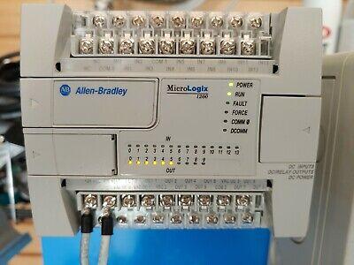 Allen Bradley 1762-l24bxb Micrologix 1200 Ser. C 24vdc 1762-l24bxb C