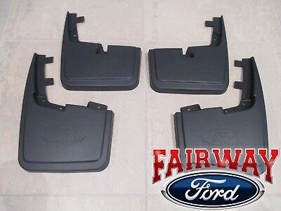 15 thru 19 F-150 OEM Ford Molded Splash Guards Mud Flaps WITHOUT Wheel Lip Mldg