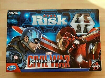 Hasbro Risk: Marvel Captain America: Civil War Edition Board Game 10+ 2-4 player for sale  Shipping to Nigeria