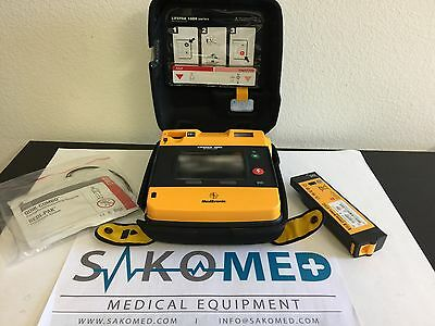 Physio Control Lp 1000 Aed 99425-000023 With Battery And Adult Pads Tested