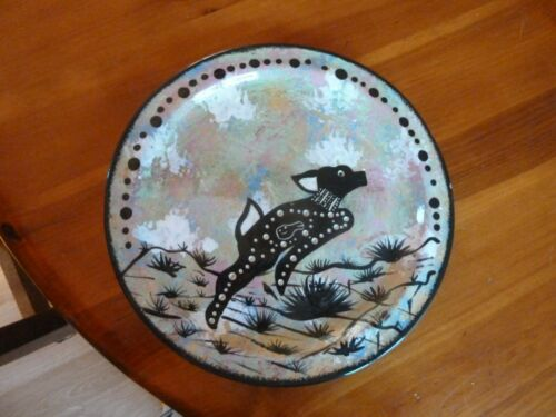 Apache USA Plate Signed Will Immanuel