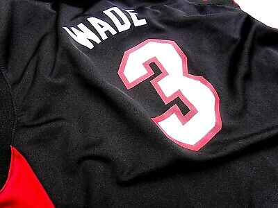 Dwayne Wade Miami Heat Adidas Youth Jersey MARQUETTE for sale  Lanham