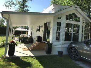 Woodland style maison mobile
