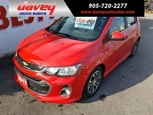 2017 Chevrolet Sonic LT Auto BACK UP CAMERA, POWER SUNROOF, R...