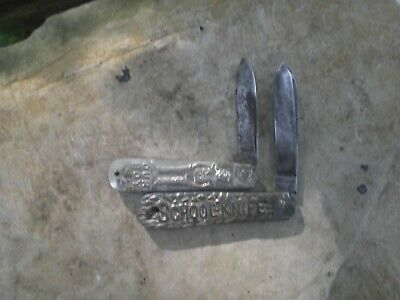 TWO VERY RARE OLD VINTAGE CANASTOTA KNIFE CO. N.Y (SCHOOL KNIFE) (OUR BOY KNIFE)
