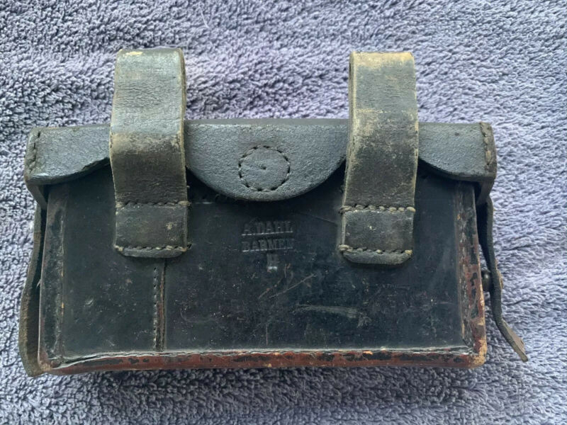 German Maker Marked Ammo Pouch #9