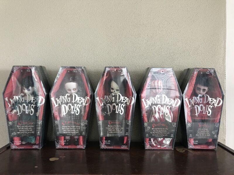 Living Dead Dolls Series 15 SEALED!! Complete Set