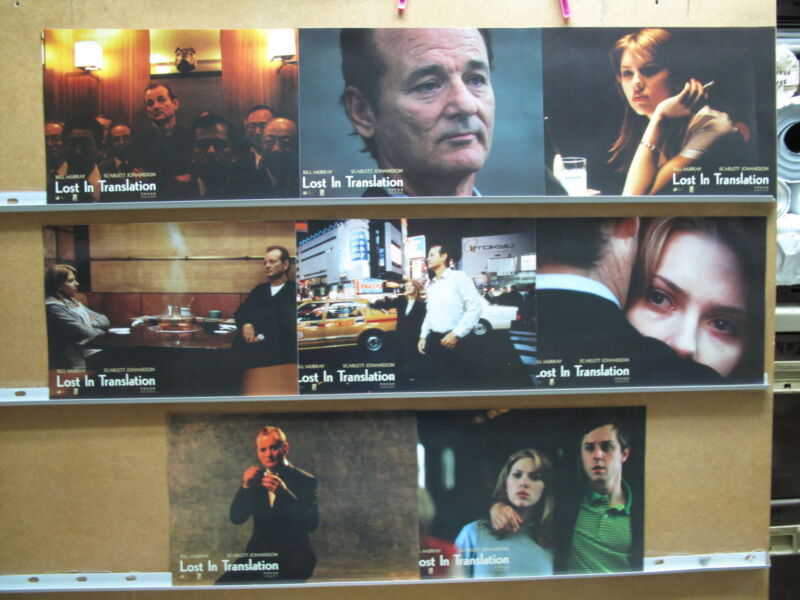 176 Lost in Translation Sofia Coppola Bill Murray, Scarlett Johansson, Giovanni