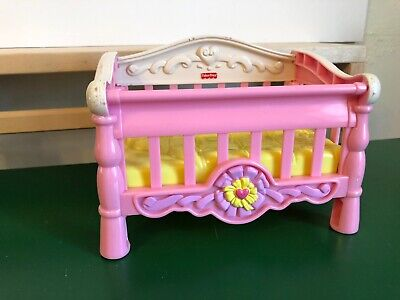 Fisher Price Snap n Style Baby Pink Crib