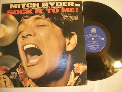 MITCH RYDER LP - SOCK IT TO ME - ORIGINAL NEW VOICE LABEL - NEAR MINT (Socks Near Me)