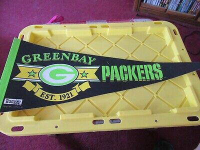 Green Bay Packers Established 1921 NFL Pennant NICE - Green Pennant