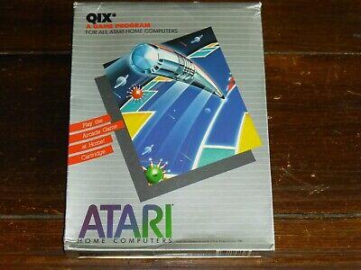 Qix for Atari Home Computers Cartridge, new NOS