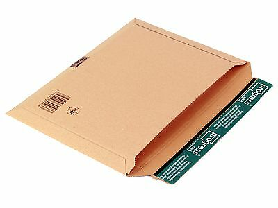 50 Wellpapp- Versandtaschen C4 - 350 x 250 mm aussen Groß-u. Maxibriefformat