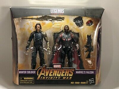 Marvel Legends Avengers Infinity War 2 - Pack Winter Soldier Falcon Movie Target