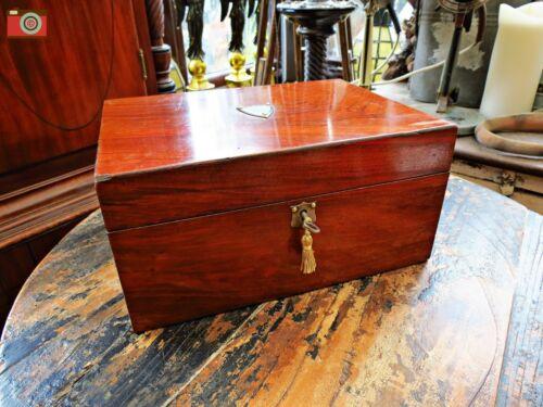 VICTORIAN JEWELLERY BOX ORIGINAL CONDITION STYLISH & FUNCTIONAL. ORIGINAL.