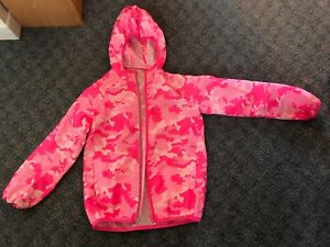 Pink size 7/8 light wind jacket