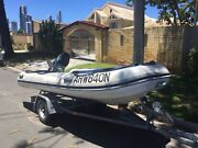 Quicksilver 3.5 meter inflatable with 25hp mercury Surfers Paradise Gold Coast City Preview